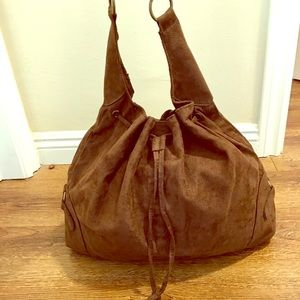 NWOT Nordstrom Suede Hobo Bag 💜